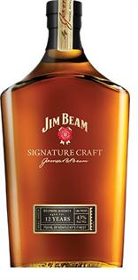 Jim Beam Bourbon Signature Craft 12 Year 750ml